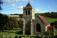 Église rurale Photo libre de droits