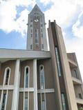 Église Sibiu Roumanie - détail d'Evanghelical Images libres de droits
