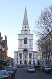 Église Spitalfields du Christ Image libre de droits
