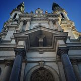 Église à Varsovie Images stock
