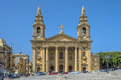 Églises de Malte Image libre de droits