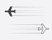 Glissement d'avion illustration de vecteur