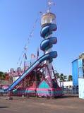 Glissez au carnaval photographie stock