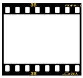 Glissez la trame de film Illustration Stock
