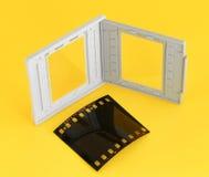 Glissez le cadre Photographie stock libre de droits