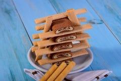 Glissez les bâtons de biscuit de petit pain Photographie stock libre de droits