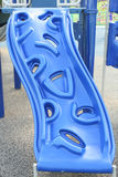 Glissière bleue Photo stock