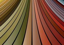glissière colorée Photographie stock