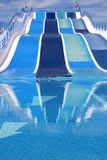 Glissière d'eau Photo libre de droits