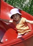 Glissière d'enfant. Images libres de droits