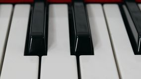 Glissière de clavier de piano banque de vidéos