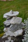 Glissière en pierre de marbre photo libre de droits