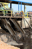 Glissières de boue images stock