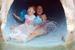 Glissière d'eau Photographie stock libre de droits