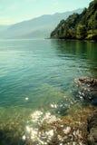 Glistening lake Stock Images