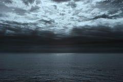 Glistening sea horizon Stock Photo