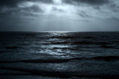 Glistening sea horizon Stock Images