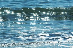 Glistening water Stock Photography