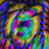 glitch абстрактная предпосылка Зарево или космос Стоковое Изображение RF