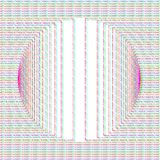 Glitch Abstract Background. Abstract glitched background. Dashed line circle color design template. EPS10 vector vector illustration