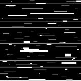 Glitch abstract background. Glitched backdrop with distortion, seamless pattern with random horizontal black and white lines. Glitch abstract background royalty free illustration