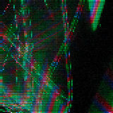 Glitch Abstract Background Royalty Free Stock Photography