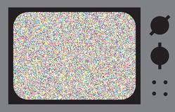 Glitch or Noise TV Royalty Free Stock Images