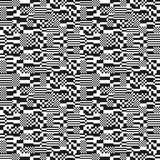 Glitch abstract seamless pattern Stock Photography