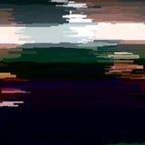 Glitch Abstracte Achtergrond Stock Afbeelding