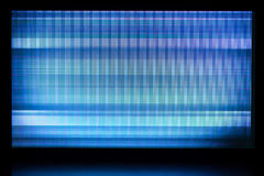 Glitch background of broken LCD display Stock Image