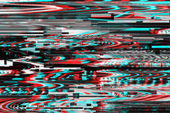 Glitch background. Computer screen error. Digital pixel noise abstract design. Photo glitch. Television signal fail stock photos