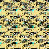 Glitch background. Computer screen error. Digital pixel noise abstract design. Video game glitch. Television signal fail. vector illustration