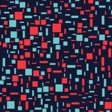 Glitch background seamless pattern. Stock Images