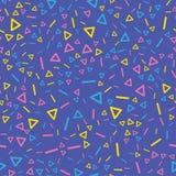 Glitch background seamless pattern. Stock Image