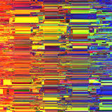 Glitch Colorful abstract background for your designs. Chaos aesthetics of signal error.  Royalty Free Stock Photos