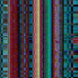 Glitch Colorful abstract background for your designs. Chaos aesthetics of signal error.  Royalty Free Stock Images