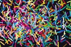 Glitch de vectorillustratie van de conceptenmeetkunde Stock Foto
