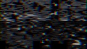 Glitch effect De fout van het computerscherm Foutenvideo Abstract Digitaal Pixellawaai TV-het signaal ontbreekt Glitch achtergron stock illustratie