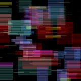 Glitch elements set. Digital pixel noise color abstract design. Video game glitch. Glitches collection. Grunge vector illustration