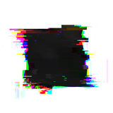 Glitch frame with copyspace Royalty Free Stock Image