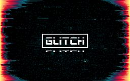 Free Glitch Frame On Dark Backdrop. Color Distortions And Pixel Noise. Cyberpunk Template With Distorted Lines. Futuristic Banner With Royalty Free Stock Images - 151205369