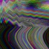 Glitch illustration background. Technology retro screen error. Digital pixel noise abstract design. Photo effect stock illustration