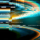 Glitch noise distortion texture background royalty free illustration