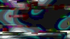 Glitch Old TV Background Element in Motion. Nice 3D Rendering stock footage