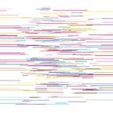 Glitch op witte vectorillustratie Stock Afbeelding