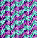 Glitch pattern Stock Image