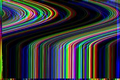 Glitch psychedelic background. Old TV screen error. Digital pixel noise abstract design. Photo glitch. Television signal. Glitch psychedelic background. Old TV stock photography