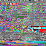 Glitch psychedelic background. Old TV screen error. Digital pixel noise abstract design. Photo glitch. Bad signal Royalty Free Stock Photos