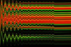 Glitch psychedelische achtergrond Oude TV-het schermfout Het digitale abstracte ontwerp van het pixellawaai Fotoglitch Televisies Stock Afbeelding