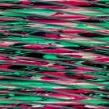 Glitch psychedelische achtergrond TV-het schermfout Het digitale abstracte ontwerp van het pixellawaai Fotoglitch Televisiesignaa Royalty-vrije Stock Afbeelding